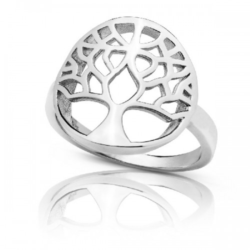 ANILLO ARBOL VIDA LISO - SO1298